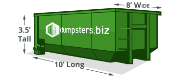 The Best Guide To Dumpster Sizes Dimensions Volume 10 40 Yarders